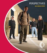 PERSPECTIVES - Owens Community College