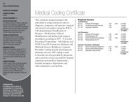 Medical Coding Certificate - Owens Community College