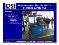 Dopplemeyer Skyride with a Siemens Safety PLC - Owens Design