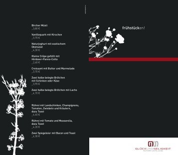 Frühstückskarte (PDF) - OWL Locations