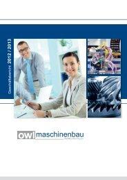 Geschäftsbericht - OWL Maschinenbau