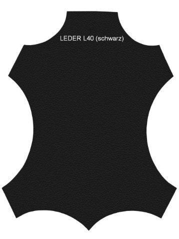 LEDER L40 (schwarz)