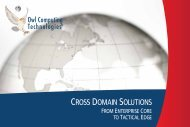 Download Government Brochure - Owl Computing Technologies, Inc.