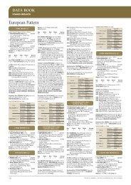 Data Book – May 2011 - Thoroughbred Owner & Breeder Magazine