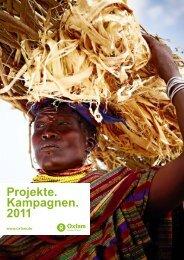 Projekte. Kampagnen. 2011 - Oxfam