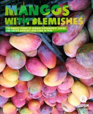 Mangos with Blemishes - Oxfam