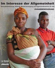 Interesse der Allgemeinheit - Oxfam