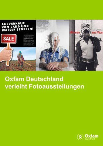 Ausstellungen - Oxfam