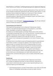 Oxfam-Positionen zum Friedens- und Reintegrationsprogramm der ...