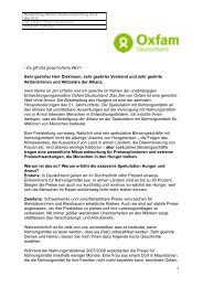 Rede Jan Urhahn, Oxfam Deutschland e.V.