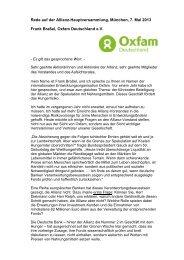 Frank Braßel - Oxfam