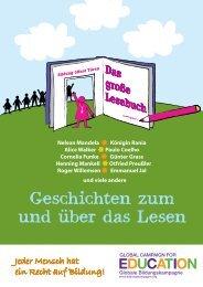 Geschichten zum und uber das Lesen - Oxfam