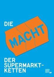 aktuellen Broschüre - Supermarktmacht