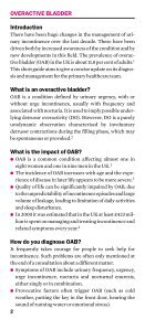 Overactive bladder - Oxford Gynaecology - Page 4