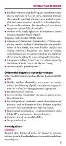 Overactive bladder - Oxford Gynaecology - Page 5