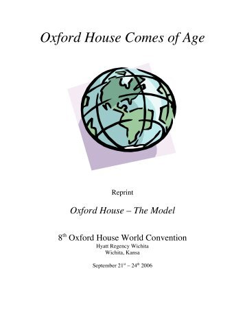 Oxford house model