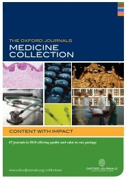 Medicine cOllectiOn - Oxford Journals