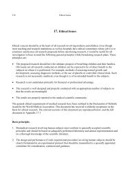 17. Ethical Issues - Oxford Journals