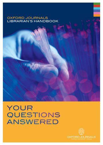 OUP Librarian Handbook Reprint v4 - Oxford Journals