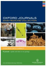 OUP Medical Collection Leaflet AW3 - Oxford Journals