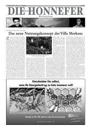 Das neue Nutzungskonzept der Villa Merkens - Die Bad Honnefer ...