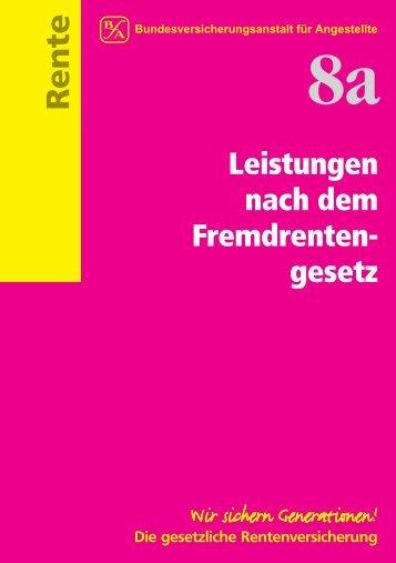 2 Für wen gilt das Fremdrentengesetz? - Eu-Info.deutschland