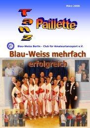 Kosmetikstudio - Blau-Weiss Berlin eV