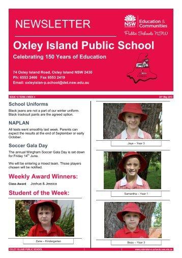 Oxley Island Public School