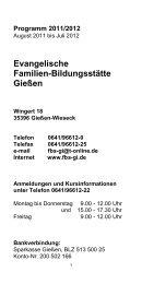 Evangelische Familien-Bildungsstätte Gießen