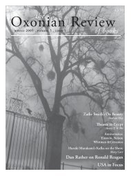 ORB 5 1 FINAL.indd - The Oxonian Review