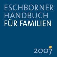Eschborner Handbuch für Familien 2007 - Stadt Eschborn
