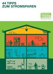 44 tipps zum stromsparen - Greenpeace Gruppen in Deutschland