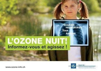 L'OZONE NUIT! Informez-vous et agissez - OZON-INFO