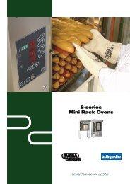 S-series Mini Rack Ovens - Öztiryakiler