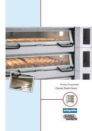 Classic Deck Oven