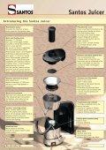 Centrifugal Juicer Santos Juicer - Page 2