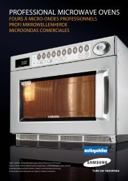 PROFESSIONAL MICROWAVE OVENS