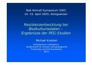 Präsentation M. Kresken - Paul Ehrlich Gesellschaft