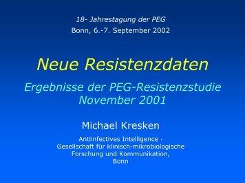 Präsentation M. Kresken, Bonn