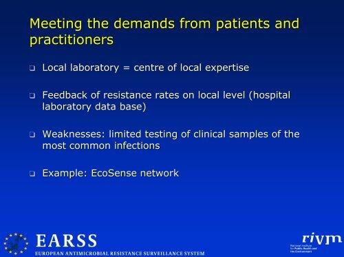 Surveillance von Antibiotikaresistenzen: Wünsche und Wirklichkeit