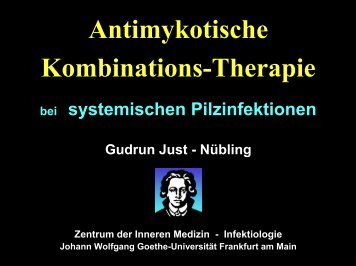 Antimykotische Kombinations-Therapie