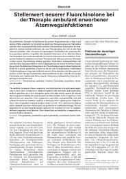 Stellenwert neuerer Fluorchinolone bei der Therapie ambulant ...