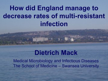 How did England manage to decrease rates of multi-resistant ...