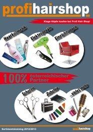 Hier gehts zum PHS Sortimentskatalog 2012/2013 - Profi Hair Shop