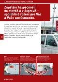 ZAJIŠTĚNÍ BEZPEČNOSTI NA STAVBĚ AV DOPRAVĚ www.pz.cz - Page 3