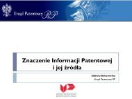 Znaczenie Informacji Patentowej i jej źródła