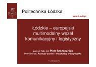 prezentacja do pobrania - Politechnika Łódzka