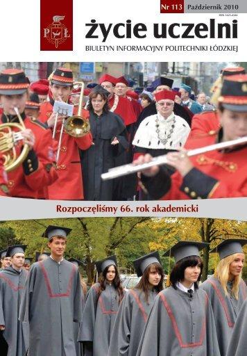 Rozpoczęliśmy 66. rok akademicki - Politechnika Łódzka