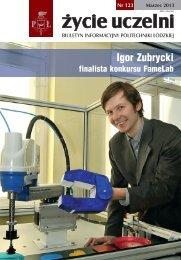 Profesor Bogdan Marciniec - Politechnika Łódzka - Urząd Miasta Łodzi