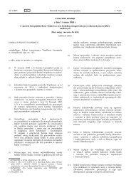 ZALECENIE KOMISJI z dnia 11 marca 2005 r. w sprawie ...